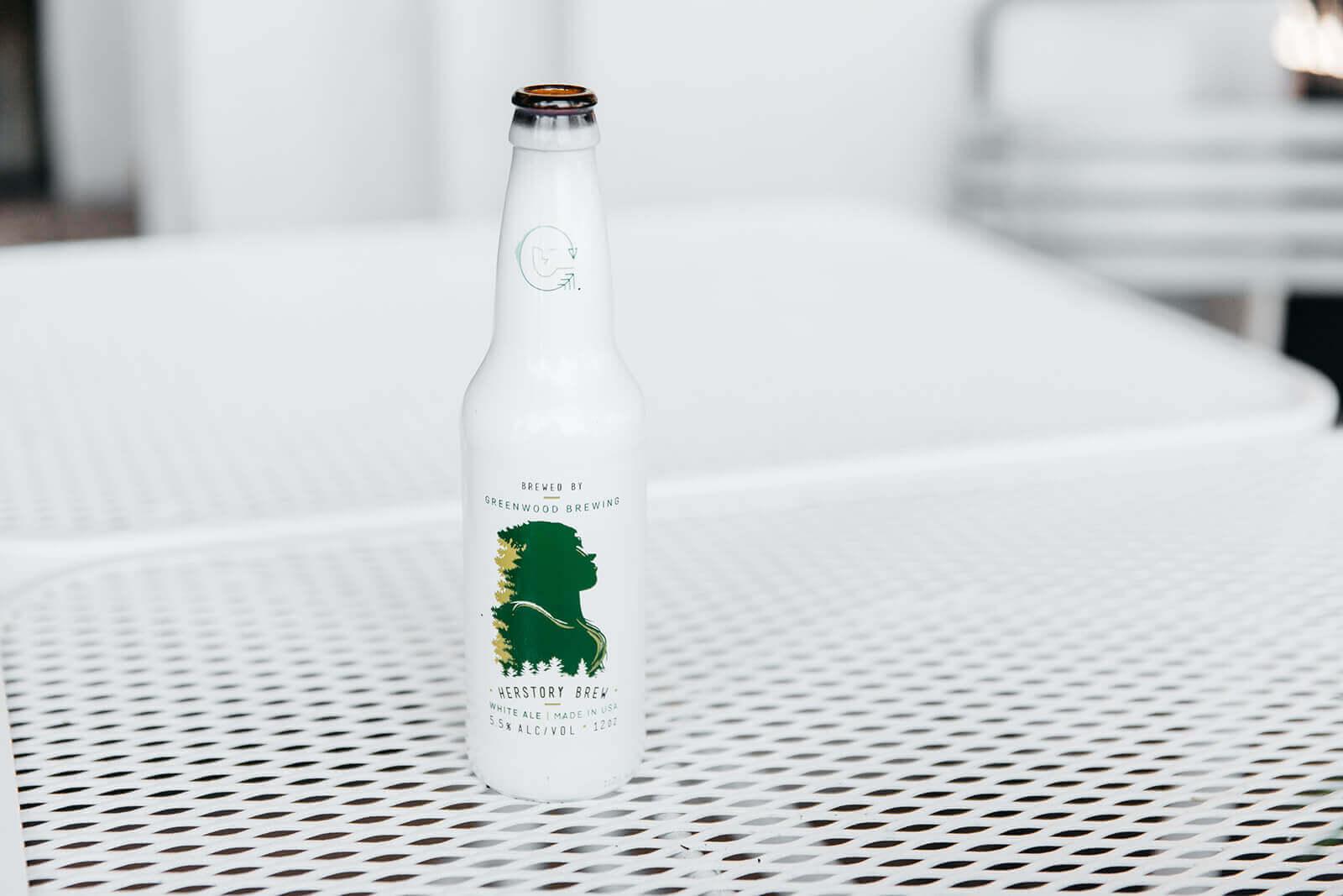 Brewery White Bottle